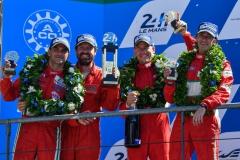 WEC 2017 | Le Mans podium | Cameron-Cioci-Scott